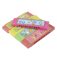 Kids Child Cartoon Harmonica Toy Plastic Fun Musical Early Educational Gift Toy
