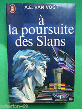 A LA POURSUITE DES SLANS A E VAN VOGT  N381 J'AI LU SCIENCE FICTION