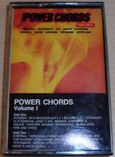 POWER CHORDS VOLUME 1 CASSETTE 1987 ATLANTIC RECORDS 7567-81777-4 ANTHRAX ACE
