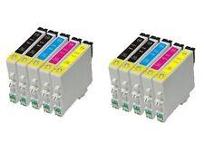 Pack x10 tintas compatibles Epson stylus C64 C66 C84 C86 CX3600 CX6650 non oem