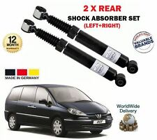 FOR PEUGEOT 807 2.0 2.2 3.0 HDi 2002-> 2 x REAR LEFT +  RIGHT SHOCK ABSORBER SET