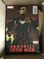 "Armorize Iron Man Sentinel, Marvel 6"" Action Figure. Ironman. Iron-Man"