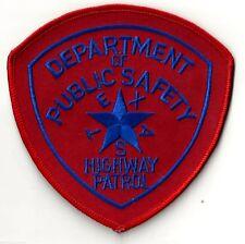 TEXAS HIGHWAY PATROL / DEPT. PUBLIC SAFETY - SHOULDER SEW ON PATCH