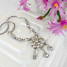 Bogoff Rhinestone Necklace Vintage Sparkly Wedding Jewellery