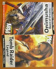 Guía doble: Onimusha Dawn of Dreams + Tomb Raider Legends (PS2 PS3 Xbox 360 PC)