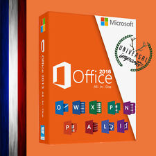♦ Microsoft Office 2016 Professionnel Retail Licence 1 PC - Office 2016 Pro ♦