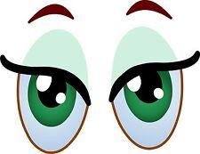 Eyes Cartoon Fun Eyeballs Car Eyes Sticker Decal Graphic Vinyl Label V1