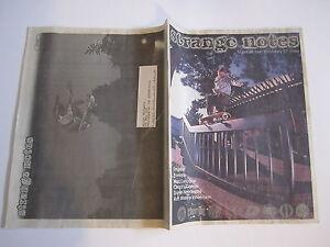 SKATEBOARD MAGAZINE STRANGE NOTES 1997 97 SANTA CRUZ CREATURE INDEPENDENT MAIL