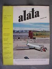 ALATA # 187 - RIVISTA AERONAUTICA - GENNAIO 1961 - BUONO