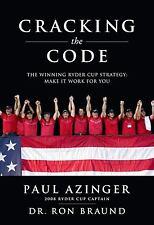 Paul Azinger~CRACKING THE CODE~SIGNED 1ST/DJ~NICE COPY