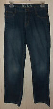 EXCELLENT GIRLS DKNY DISTRESSED BLUE JEANS   SIZE 14