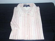 NEW Men's Tommy Hilfiger Short Sleeved Button-Up Shirt - Size XL