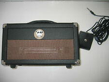 BWM CHIMP MK3 5/2.5 WATT VALVE GUITAR AMP HEAD WITH VALVE DRIVEN REVERB