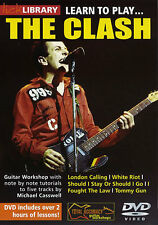 NEW LICK LIBRARY LEARN TO PLAY THE CLASH DVD ELECTRIC GUITAR RDR0145