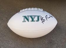 New York Jets SHELDON RICHARDSON Signed Autographed Logo Football COA! PROOF!