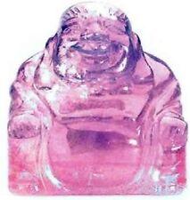 Amethyst Crystal Healing Gemstone Buddha 50mm x 50mm Gift Reiki Powerful Purple
