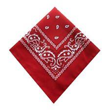 Vintage Paisley Bandana Head Wrap Headbands Neck Scarf Wristband Handkerchief