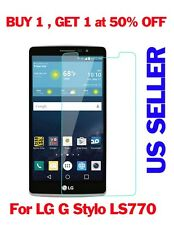 New Premium Real Tempered Glass Film Screen Protector Guard for LG G Stylo LS770