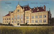 B71524 Liceul De fete Leony gimnazium Timisoara  temesvar timis  romania