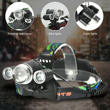 6000LM XM-L2 LED Zoomable Bycicle Light Headlamp Hiking Headlight Bike Lamp
