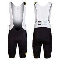 Rapha Black/Sulphur Pro Team Bib Shorts - Regular. Size XS. BNWT.