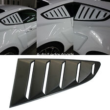 For Mustang Quarter Window Louvers 15-17 Quarter 1/4 Side PP Car Window Louver