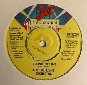 "Electric Light Orchestra - ""Telephone Line""  7"" (1977) 3 tracks / UP36254 / LOG6"