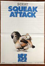 Ice Age Original 2001 Scrat Movie Vinyl Banner