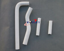 Silicone radiator hose for YAMAHA YZF250 YZ250F 2001-2005 01 02 03 04 05 white