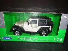Welly Jeep Wrangler 2007 White 1/24
