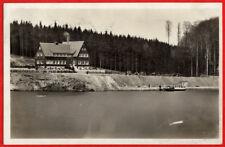 Kriebstein - Gaststätte Talsperre um 1930 - Gasthaus Zschopau Zschopautal AK 244
