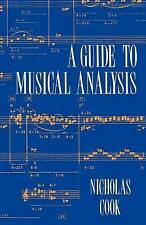 A Guide to Musical Analysis by Nicholas Cook (Paperback, 1994)