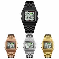 Digitale Armbanduhren aus Edelstahl SKMEI