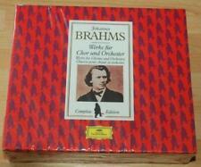 Brahms - Works For Chorus And Orchestra - Giulini Sinopoli - Sealed DG 3 CD Set