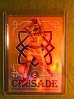 DERON WILLIAMS PRIZM SSP /25 CLEVELAND CAVS 2016 NBA CHAMPIONS Crusade Orange SP