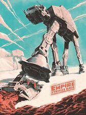 "STAR WARS ""THE EMPIRE STRIKES BACK"" RETRO Image A4 Art Print Poster Laminated"