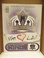 LOS ANGELES KINGS 2000-2001 YEARBOOK
