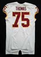 #75 Thomas of Washington Redskins NFL Locker Room Game Issued Jersey