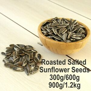 HEALTHY Fresh Dry Oven Roasted Salted Sunflower Seeds Nuts Fibre Vitamin E Rich