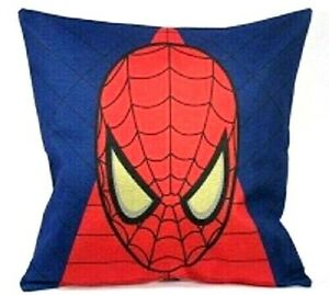 Spiderman Decorative Pillow Cover Superhero Marvel Web Slinger Spidey Red NEW