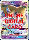 1X Jirachi GX 79/236 Unified Minds Pokemon TCG Online Digital Card