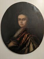 Antique Painting, School of Godfrey Kneller (1646-1723), English, portrait