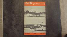 Magazine Air Journal 1939/1945 n° 2 - Volume 2 - Nov/Déc 1968