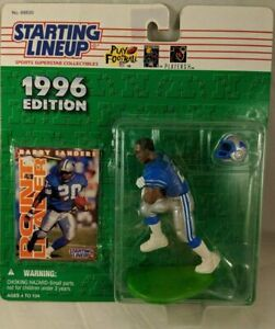Starting Lineup BARRY SANDERS/DETROIT LIONS 1996 NFL Action Figure & Exclusive N