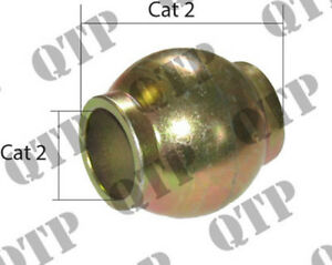 Ford / New Holland / Massey Ferguson Tractor Quick Hitch Top Link Ball. (Cat 2)