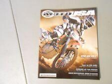 ISSUE 2 2010 MOTO USA MAGAZINE,KTM 450 SX-F,RISE AN FALL OF HUSKY,BMW S1000RR,