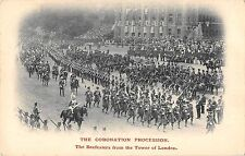 BR79085 the coronation procesion tower of london military militaria   uk