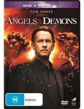 Angels & Demons (DVD, 2016) Tom Hanks Region 4 🇦🇺 Brand New Sealed Free Post