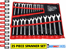 TECTOOL 25pc Combination Metric Combo Spanner Set 6mm-32mm Garage Tool CT0088