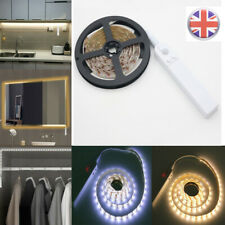 1/2/3M Battery LED Strip Lights Wireless PIR Motion Sensor Wardrobe Closet Lamp
